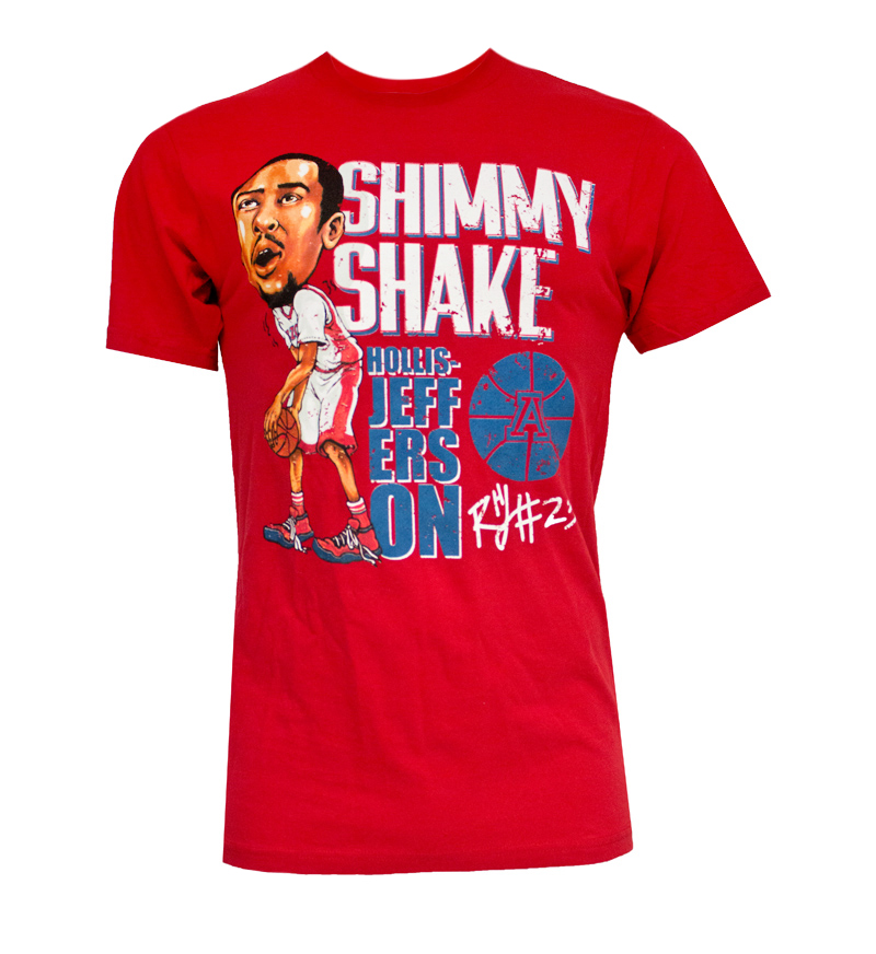 The Victory: Shimmy Shake Hollis-Jefferson Red T-Shirt