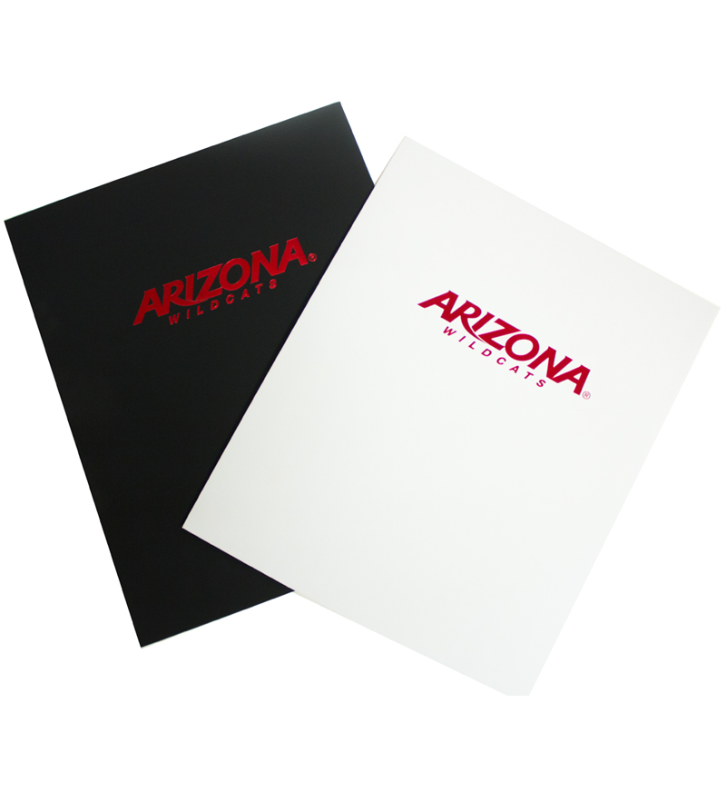 Folder: Arizona Wildcats Red Foil