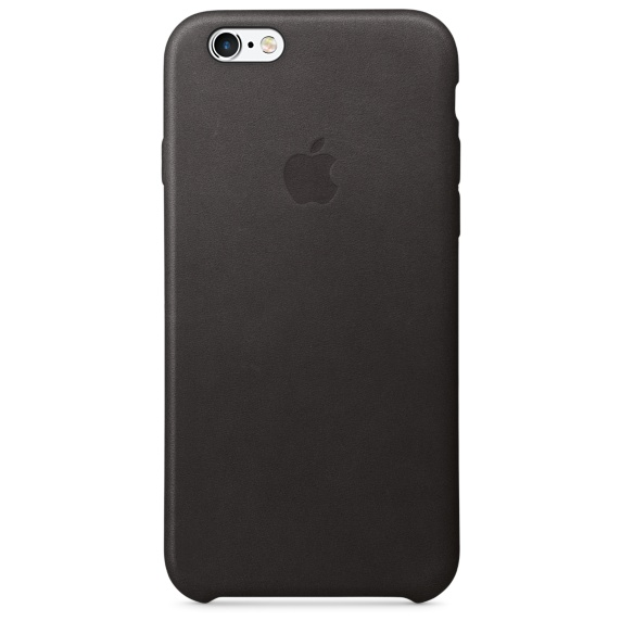 Apple iPhone 6s Leather Case-Black