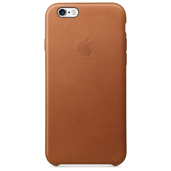 Apple iPhone 6s Leather Case-Saddle Brown