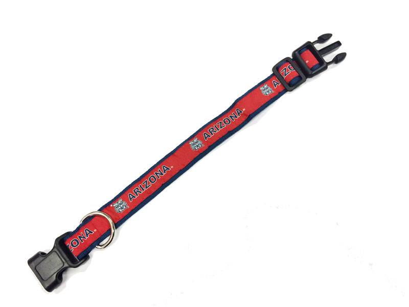 Dog Collar: Arizona Wildcats Pet Collar Red/Navy