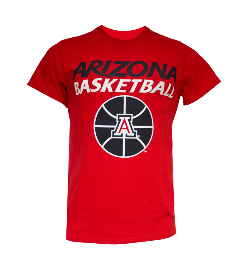 The Game: Navy 'Arizona Basketball' 'A' Logo T-Shirt