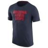 Nike: Navy Arizona Wildcats Never Stops Practice T-Shirt thumbnail