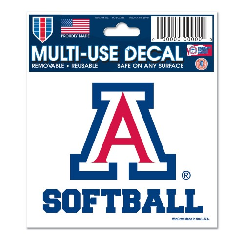 Arizona Softball Decal