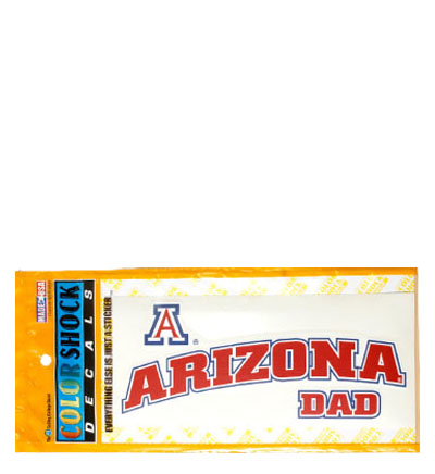 Decal: 'A' Arizona Dad