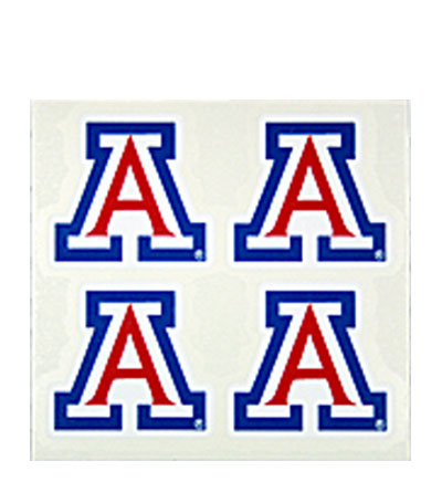 Decal: 'A' Logo (Set of 4)