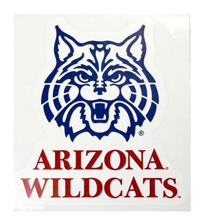 Wall Decal: 'Face' Arizona Wildcats