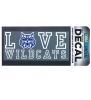 Decal: Love Cat Face Wildcats