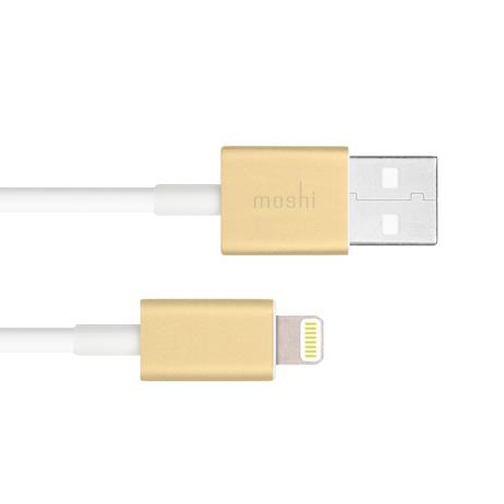 Moshi 3.2 Ft USB Cable with Lightning Connector Gold