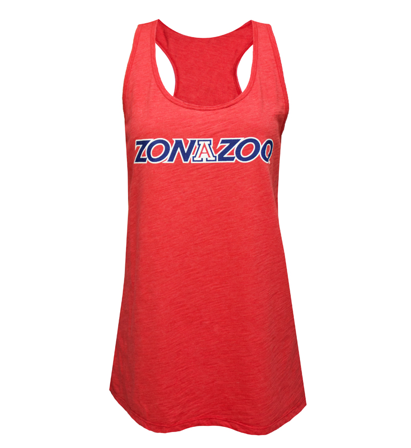Venley: Women's Red ZonaZoo Tank