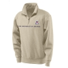 JanSport: 1/4 Zip Sweatshirt Oatmeal thumbnail