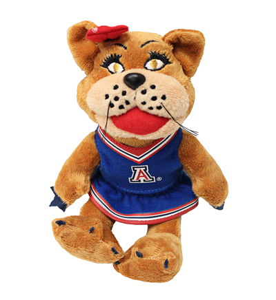 "8"" Plush Wilma Cheerleader"