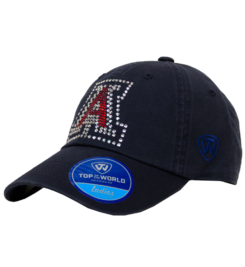 Arizona Ladies Navy Bling Adjustable Hat