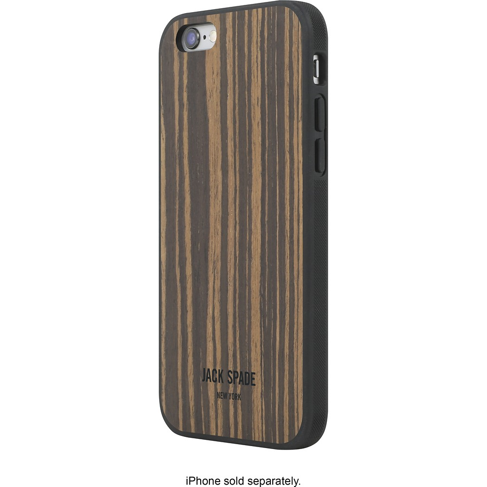 Jack Spade New York: iPhone 6//6s Wood Case Macassar Ebony