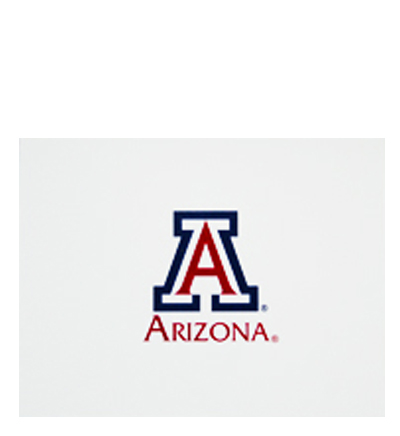 'A' Arizona Blank Notecards 10 ct.