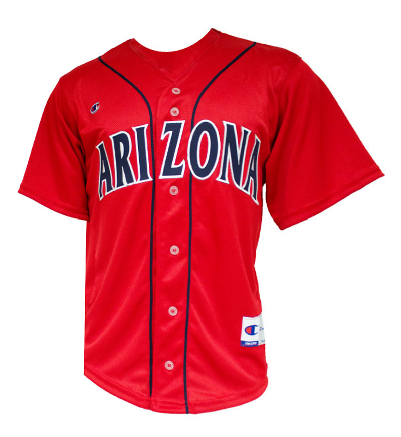 Champion: Arizona Baseball Red Jersey