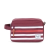 Herschel Chapter Travel Kit Windsor Wine Offset Stripe thumbnail