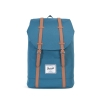 Herschel Retreat Backpack Indian Teal/Tan Synthetic Leather thumbnail