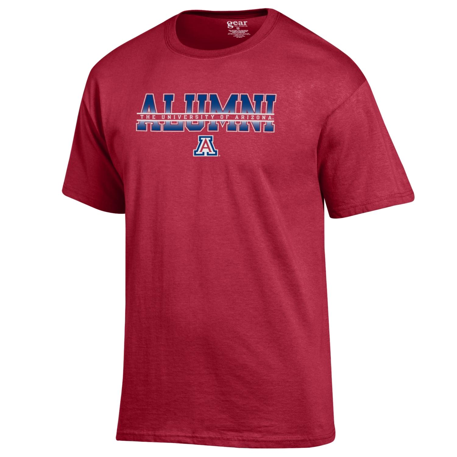 Gear: The Univesity of Arizona Alumni Basic Tee-Red