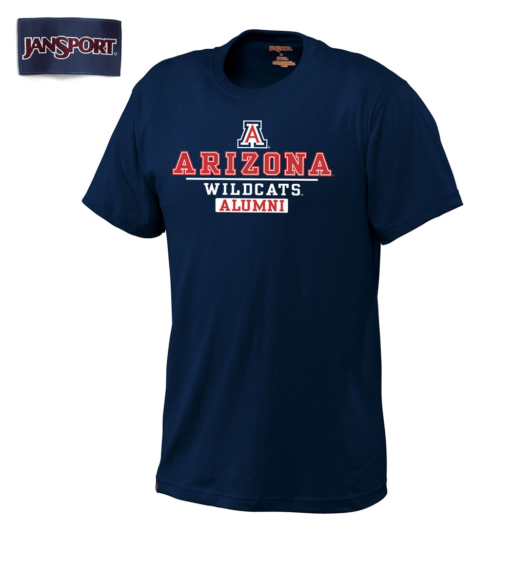 JanSport: Arizona Wildcats Alumni Navy Tee