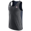 Nike: Arizona Dri-Fit Touch Charcoal/Navy Tank thumbnail