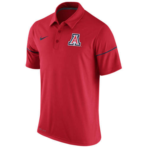 Nike: Arizona Team Issue Red Polo