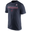 Nike: Arizona Wildcats 2016 Football Practice Navy T-Shirt thumbnail