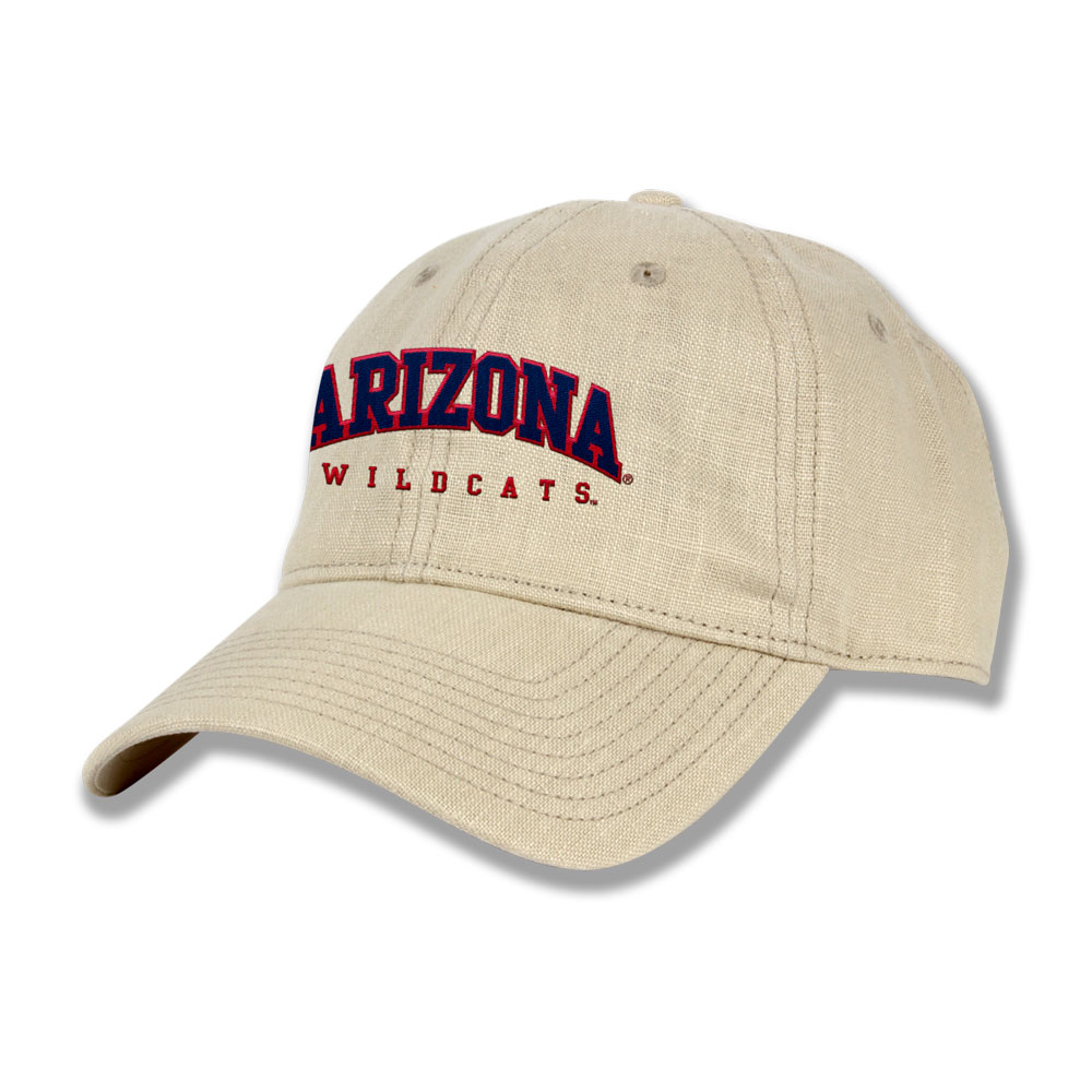 The Game: Arizona Wildcats Relaxed Linen Cap