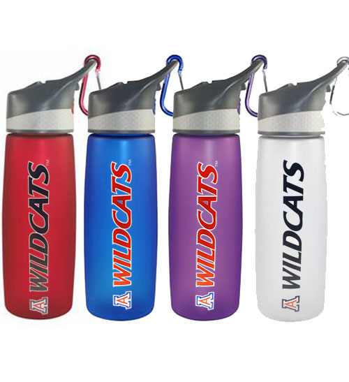Arizona Wildcats Frosted Water Bottle