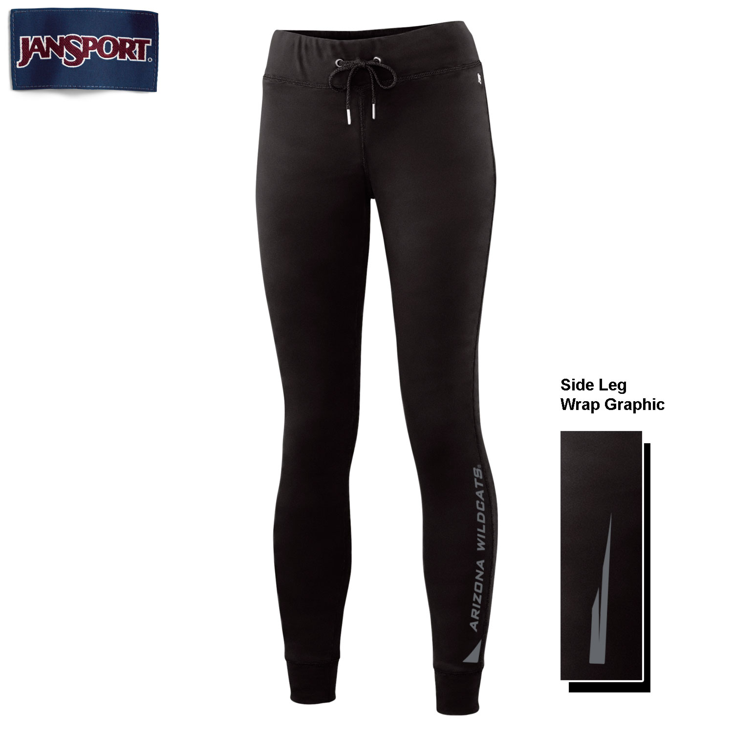 JanSport: Arizona Wildcats Lax Leggings Black
