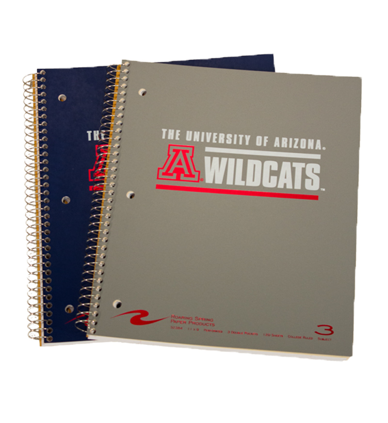 Notebook: 3-Subject  University of Arizona Wildcats