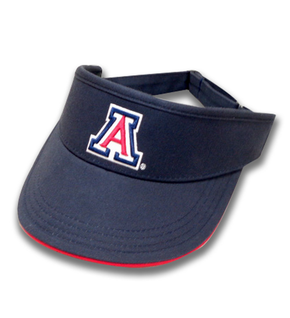 The Game: Arizona Ladies Cotton Twill Golf Navy Visor