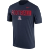 "Nike: Arizona Wildcats Legend ""FootbALL"" Navy Tee thumbnail"