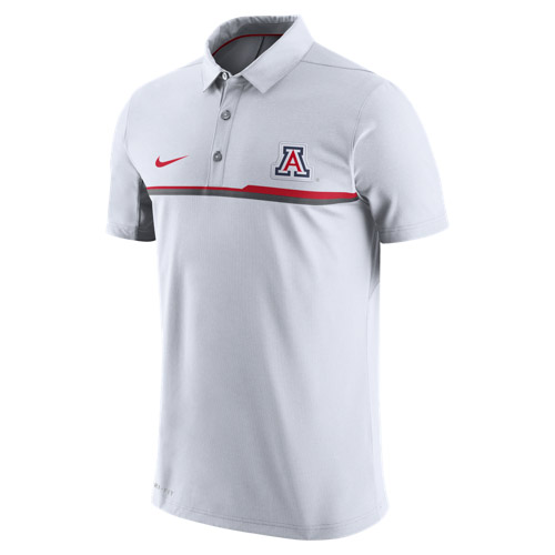 Nike: Arizona Elite Coaches Performance Polo White
