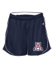 Badger Sport: Pacer Ladies Shorts Navy/White thumbnail