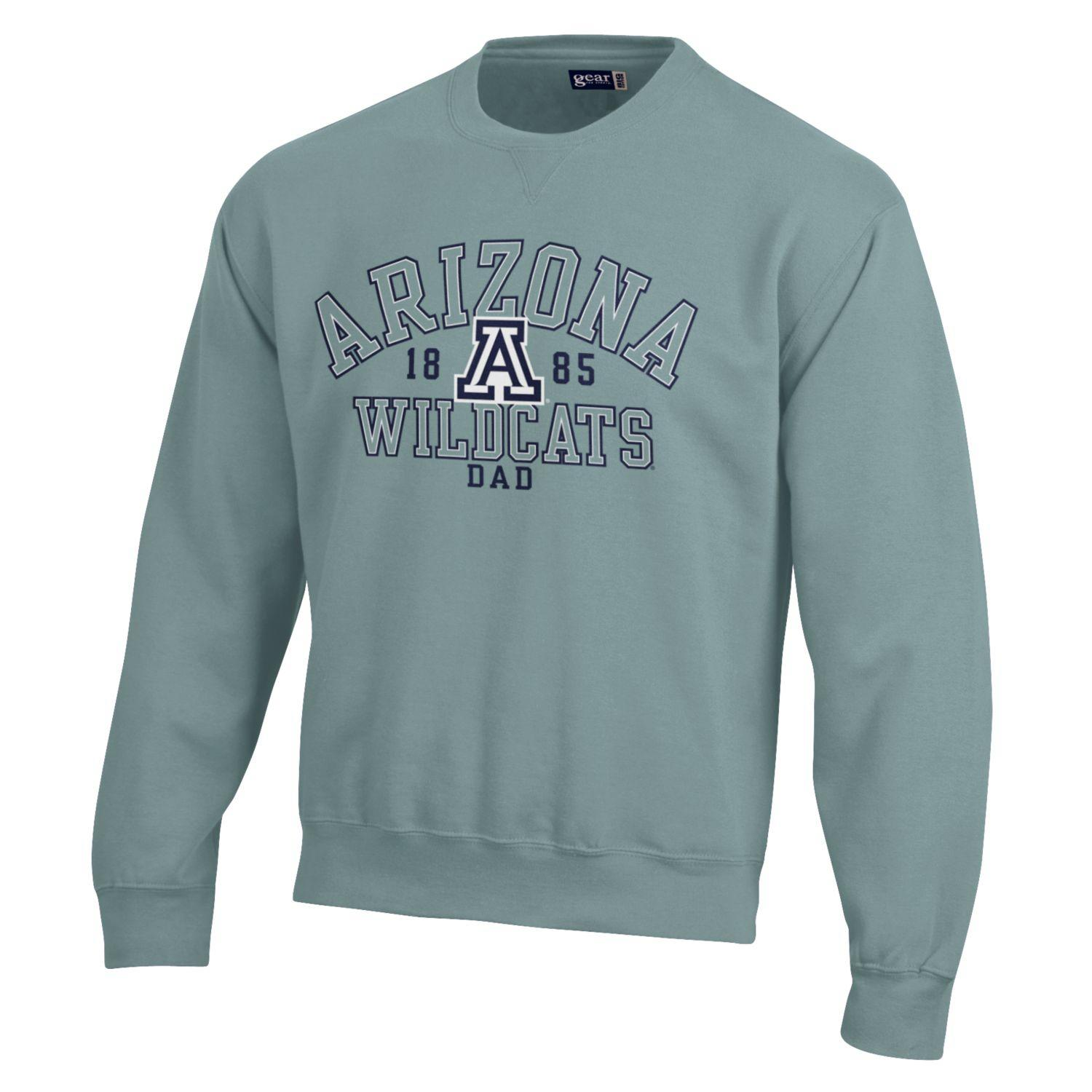 Gear For Sports: Arizona Wildcats Dad Big Cotton Crew