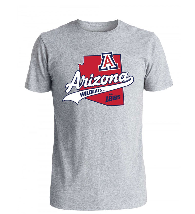 Official Arizona Wear: Wildcats State Softball Lettering Tee