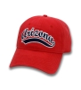 The Game: Arizona Softball Script Relaxed Canvas Cap Red thumbnail