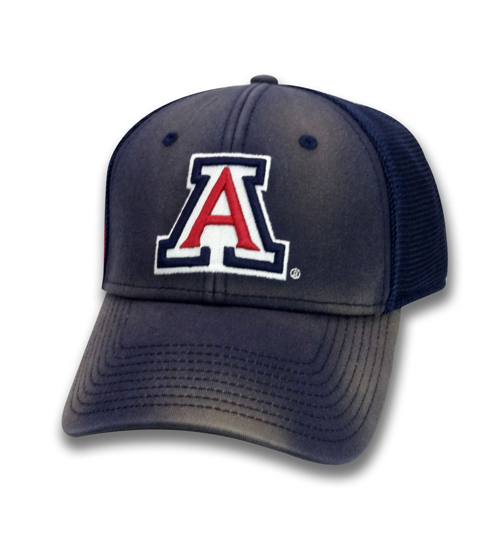 The Game: Arizona Wildcats Diamond Mesh Trucker Navy Cap