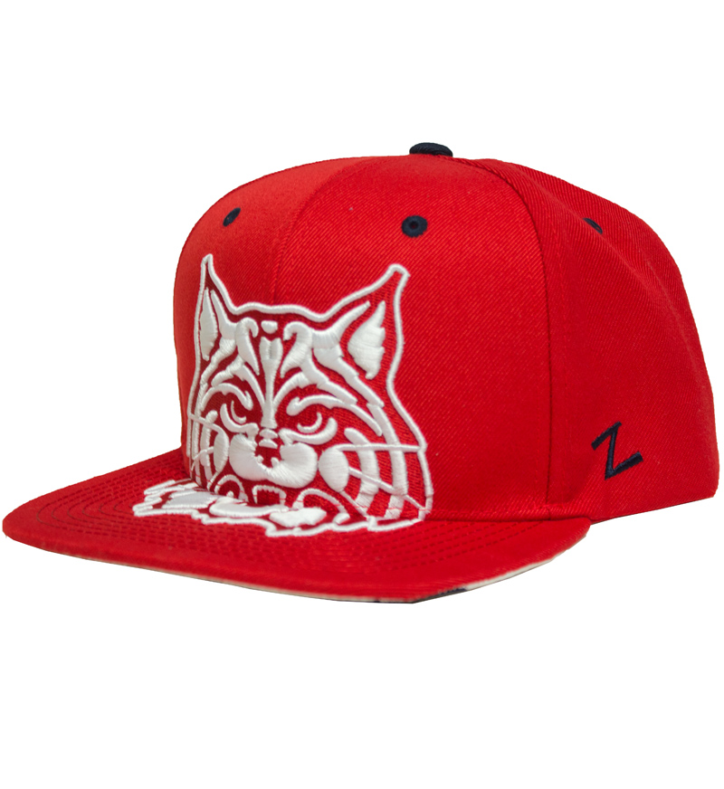 Zephyr: Arizona Menace White/Red Snapback Cap