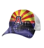 The Game: Arizona State Flag Sublimated Trucker Cap thumbnail