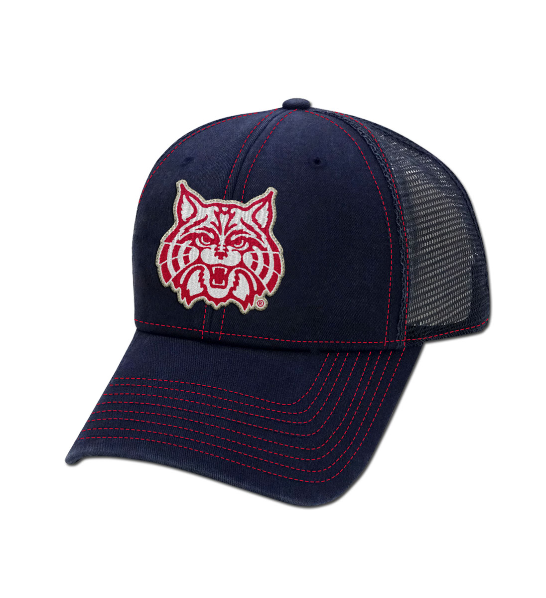 The Game: Arizona Wildcat Face Comfort Twill Trucker