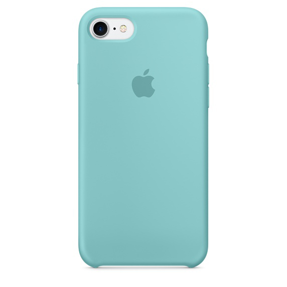 Apple iPhone 7 Silicone Case - Sea Blue