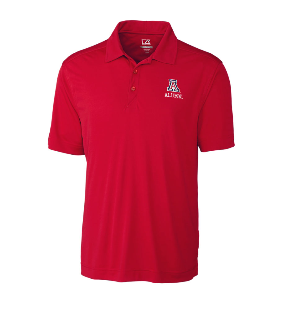 Cutter & Buck: Arizona Alumni Men's DryTec Northgate Polo RD
