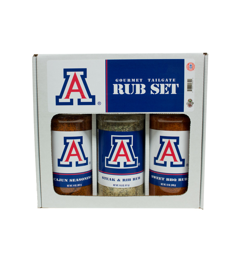 Arizona Gourmet Tailegate Rub Spice Set