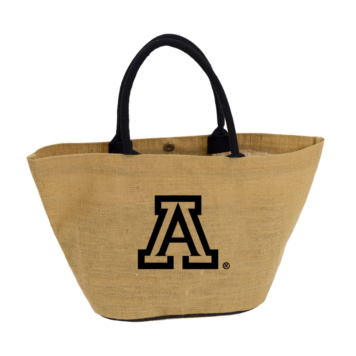 Logo: Arizona Avalon Jute Tote Bag
