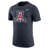Nike: Arizona College Men's Marled Logo Tee Navy thumbnail