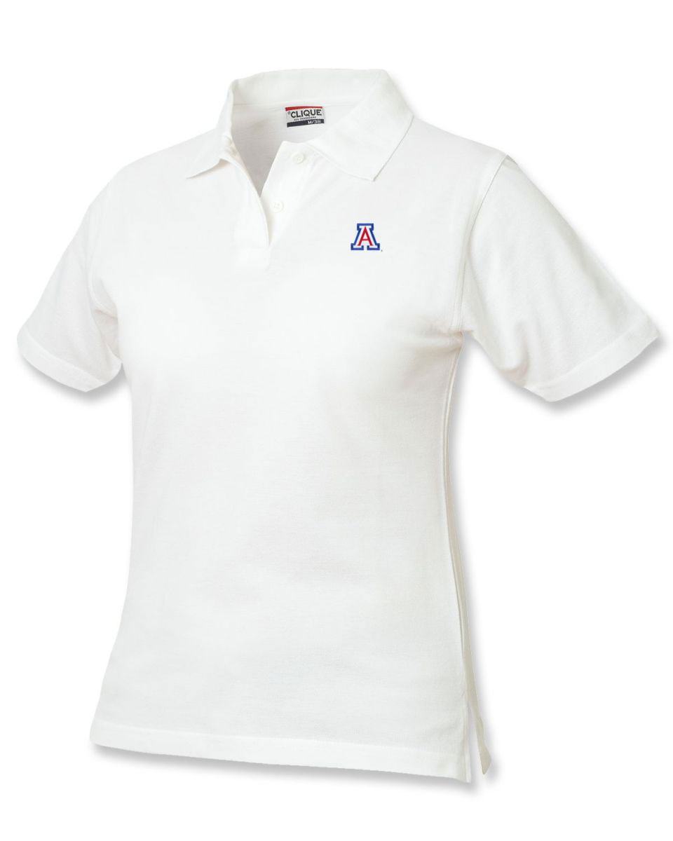 Cutter & Buck: Arizona Women's Marion Knit Polo White