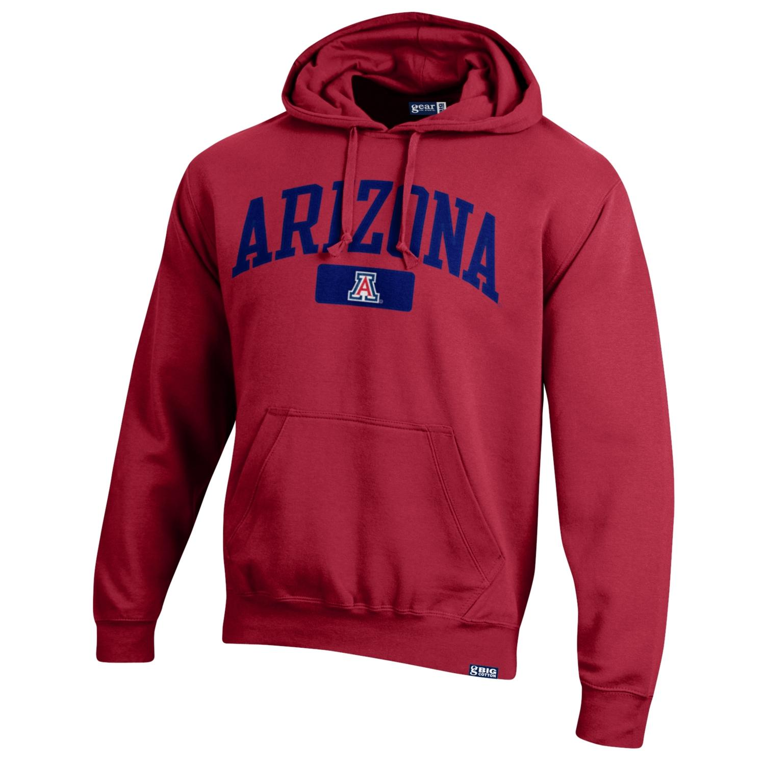 Gear For Sports: Arizona Big Cotton Hood Red
