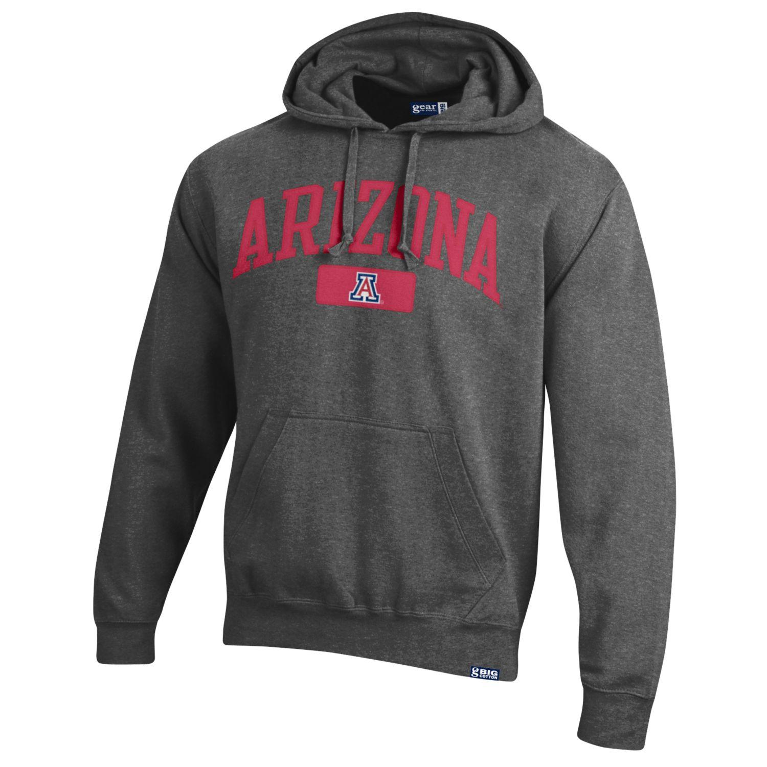 Gear For Sports: Arizona Big Cotton Hood Charcoal